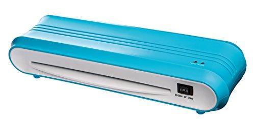 Genie F9011 Laminiergerät (bis DIN A4, geeignet für Heißlamination, Inkl Laminerfolien) blau