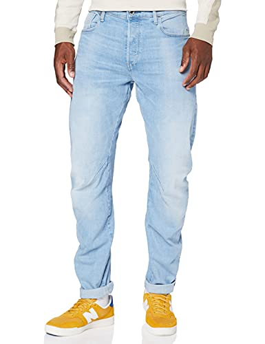 G-STAR RAW Arc 3D Slim Jeans, Blu (Sun Faded Crystal Blue B631-b251), 36W x 32L Uomo