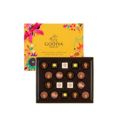 Godiva Carnival Gold Collection, 18 Stück