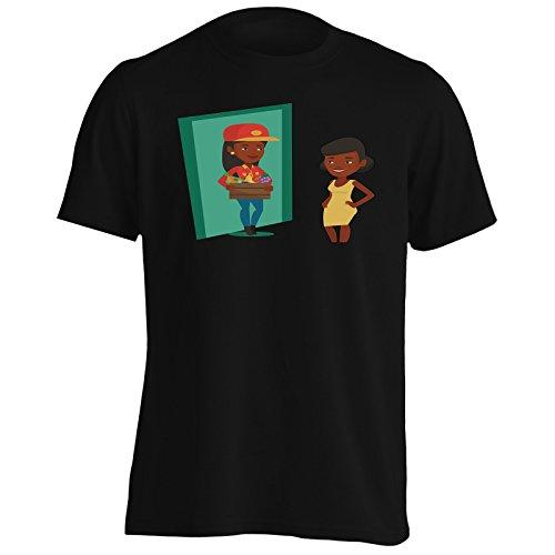 INNOGLEN Livraison De Fruits Et Légumes Hommes T-Shirt q516m