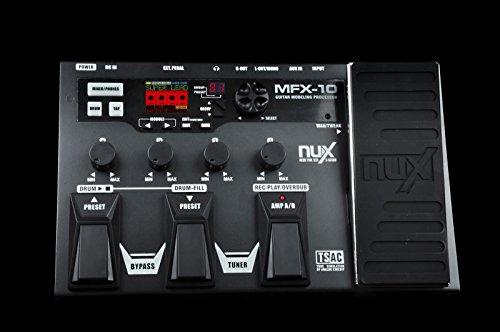 Nux Mfx-10 - Pedal digital para guitarra