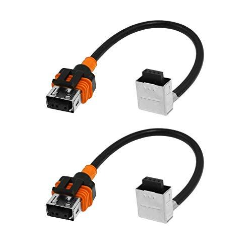 O-NEX 2x HID Relay Harness D1S D1R D1C 35W/55W AMP Wiring Adapter Bulb/Ballast Connector