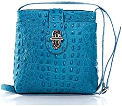 Alice 201, Genuine leather, Made in Italy (Turquoise)