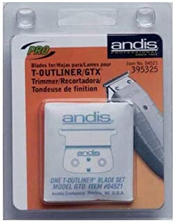 Andis T-Outliner Trimmer Blade Set For Go 1/125# A4521