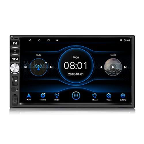 Panlelo PA1011 Plus 2 Din Android 8.1 Auto Stereo 2 GB RAM 32 GB ROM Autoradio AM FM RDS GPS-navigatie BT Mirror Link Multimediaspeler Ondersteuning Stuurbediening AV Uit Hoofdsteun