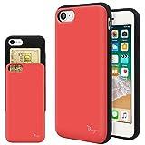 iPhone SE 第2世代 ケース iPhone8 ケース iPhone7 TPU バンパー Bumper 耐衝撃 カード入れ マ……
