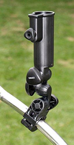 Yorrx® Umbrella Holder Tour-X Spezial (inkl. Rahmenadapter) - optimal Slim Lion Pro5 Golftrolleys uva.