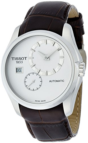 Tissot Couturier White Dial Stainless Steel Automatic Men's Watch T0354281603100