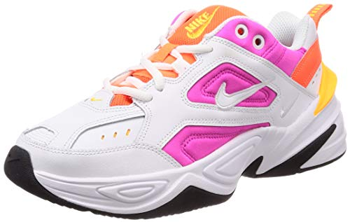 Nike Damen WMNS M2K Tekno Sneaker, Weiß (White Ao3108 104), 38.5 EU