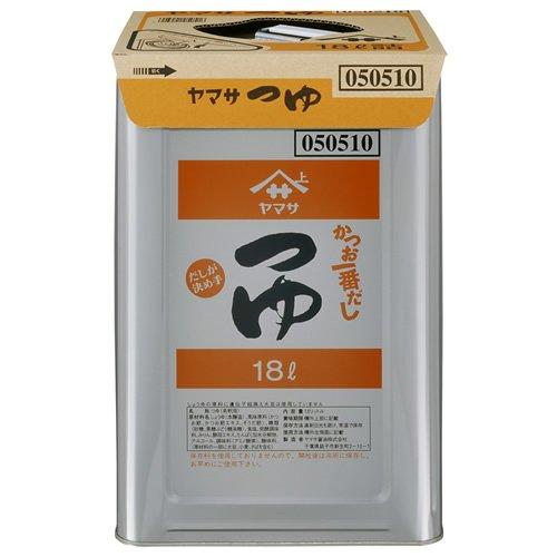 ヤマサ つゆ 18L 天パット缶