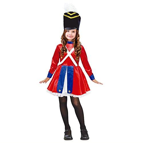 Partilandia Disfraz Soldadito de Plomo Vestido NIÑA Navidad 4-6 años