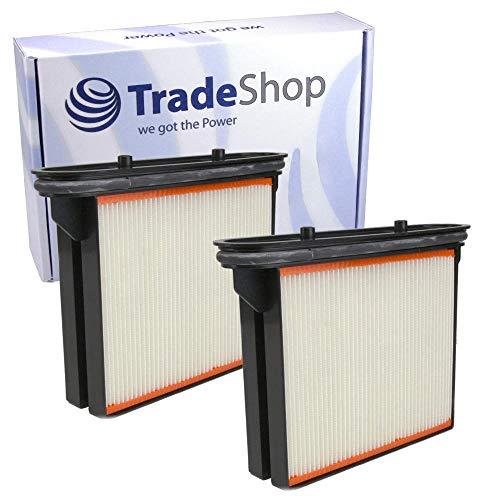 2x Polyester-Faltenfilter Filter-Kassette Filter-Kartusche für Spit AC1600 AC 1625 AC 1630P, AC 1630 P M 3M Mobile Absaugsysteme 64396 64400 64404 64408
