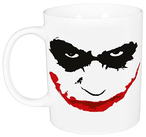 "Batman Tasse ""Joker"", Porzellan, ca. 320 ml – 0122162 Taza, Porcelana, Blanco, 12 x 7.5 x 9.3000000000000007 cm"