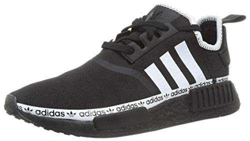 adidas Originals Mens NMD_R1 Sneaker, Core Black/Footwear White/Footwear White,42 EU
