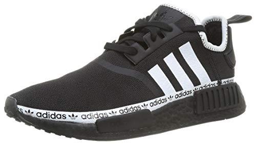 adidas Originals Mens NMD_R1 Sneaker, Core Black/Footwear White/Footwear White,42 EU