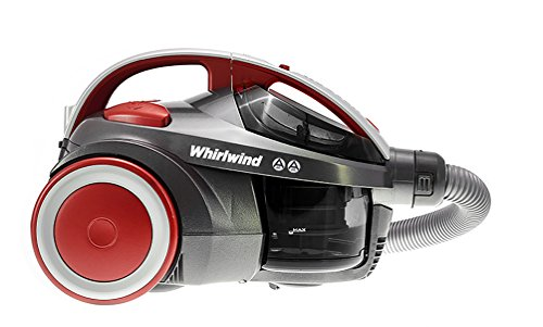 Hoover Whirlwind Pets Bagless Cylinder Vacuum Cleaner, SE71WR02,...