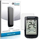 disGuard - Protector de pantalla para Sigma Pure GPS (2 unidades), transparente