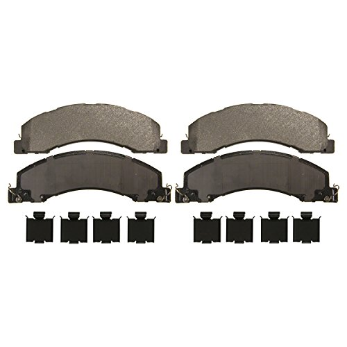 Wagner Severe Duty SX1335 Semi-Metallic Disc Pad Set Includes Installation Hardware, Front