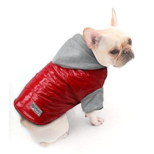 Beirui Dog Doggy Clothes Cold Weather Coat - Waterproof Windproof Dog Jacket Dog Snowsuit - Warm...
