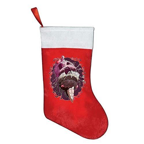 DPASIi Christmas Stockings Classic Ea Lion Gentleman Art Print Felt Party Accessory Santa Claus Merry Christmas