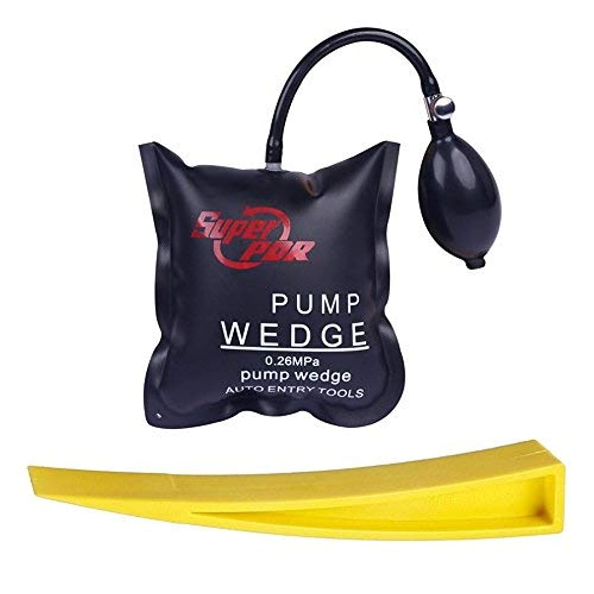 Fly5D Air Wedge Pump Wedge Hand Tools for Auto Repair Home Universal Use (Square)