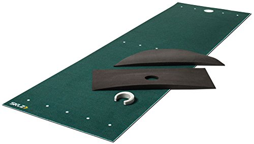 SKLZ Vari-Break Putting Course - Oversized, deluxe Putting Mat with foam wedges to practice almost every putt