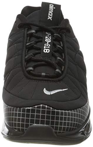 Nike Mx-720-818 Men's Shoe, Zapatillas para Correr Hombre, Black/Metallic Silver-Black-Anthracite, 41 EU