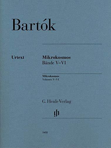 Mikrokosmos Bände V-VI: Klavier zu zwei Händen