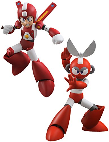 Sentinel Super Mega Man & Cut Man Action Figure