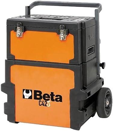 Carro Para Ferramentas Tipo Trolley, Beta C42s - 4200s Beta Laranja