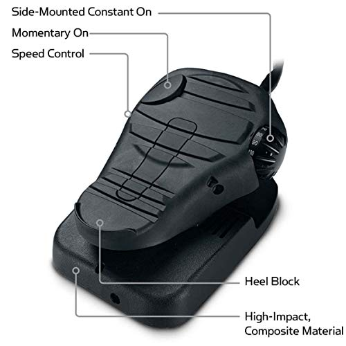 MINN KOTA Cable-Steer Foot Pedal
