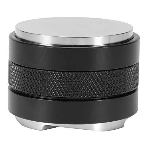 Distribuidor de café Distribuidor de café -53mm Distribuidor de café Nivelador Prensa de polvo de acero inoxidable Herramienta de apisonamiento de café Altura ajustable