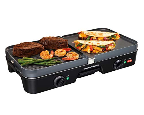 Hamilton beach 38546 3 in 1 grill griddle review