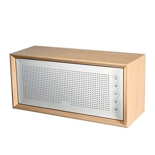 Bluetooth Mini Retro TFcard FM-radio hout 10W draadloze subwoofer Sound Bot 10 uur afspelen