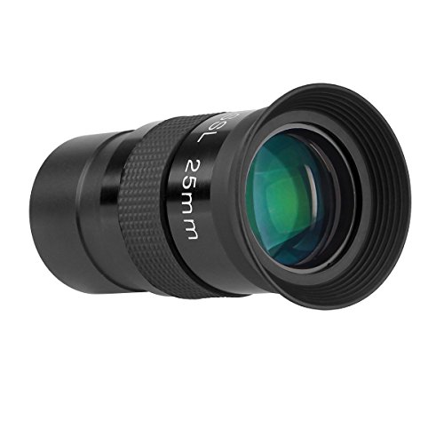 SVBONY Telescope Lenses 25mm Telescope Accessory 1.25 inches Lens Fully Coated Telescope Lenses Plossl 40-Deg for Astronomy Telescope