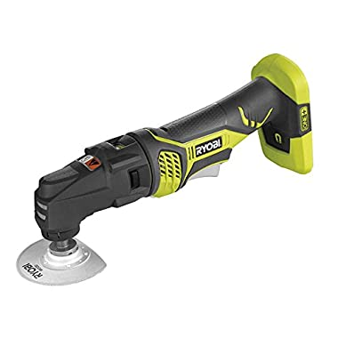 Ryobi RMT1801M One+ 18V Lithium Ion JobPlus Cordless Multi Tool with 3 Attachment Heads