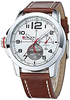 Curren Mens Round Dail Wrist Watch M8182-B