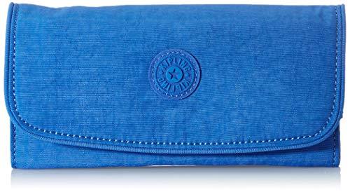 Kipling Money Land, Carteras para Mujer, Azul (Wave Blue), 18.5x10x3 cm