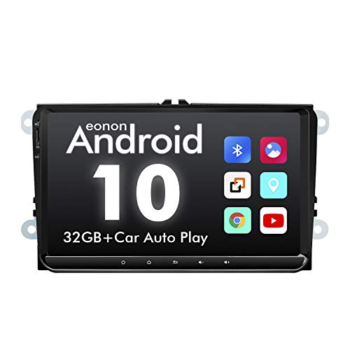 GA9453B Android 10 headunit 9' LCD Car Autoradio 32GB ROM DSP GPS Nav Sat compatible with SEAT Skoda Compatible with Fender System Support Apple Carplay Bluetooth Fast Boot (NO DVD)
