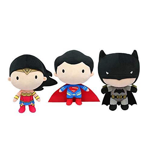 Muñeca de Peluche de la Liga de la Justicia, Batman Wonder Woman...