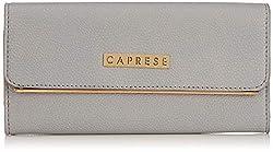 Caprese Nicole Womens Wallet (Soft Blue)