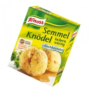 Knorr - Semmelknödel im Kochbeutel - 5 x 200 g