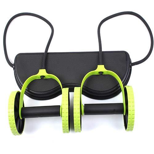 Abdominale training Workout Machine Thuis Gym Uitrusting Multi-Functie Trekker Abdominale Spieren Tweewielige Abdominale Trekkoord Abdominale Wiel Fitness Trekkoord