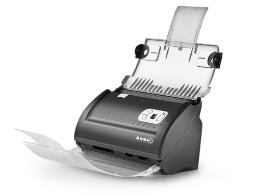 Ambir ImageScan Pro 820i (DS820-AS) High-Speed Duplex Document and ID Scanner with Automatic Document Feeder