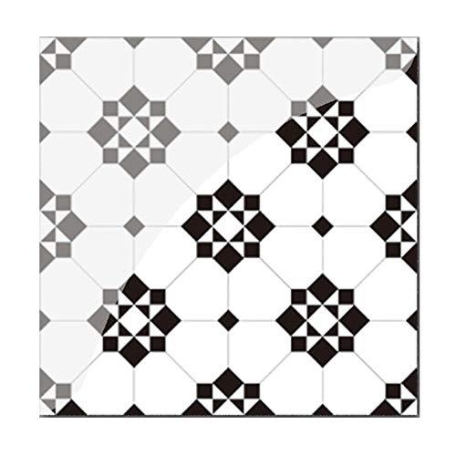 19 piezas PVC impermeable Mosaikfliesen pared pared azulejos cocina pegatinas decoración
