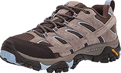 Merrell Women's Moab 2 Vent Hiking Shoe, Brindle, 10