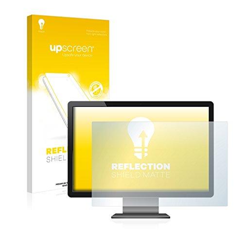 upscreen Entspiegelungs-Schutzfolie für 27 Zoll Standardgrößen (598 x 336 mm, 16:9) – Anti-Reflex Displayschutz-Folie Matt
