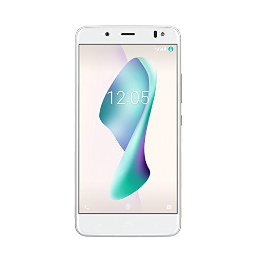 """BQ Aquaris V Plus - Smartphone de 5.5"""" (WiFi, 3 GB de RAM, memoria interna de 32 GB, Bluetooth 4.2, cámara de 12 MP Big Pixel, dual nano-SIM, Android 7.1.2 Nougat), Mist gold"""