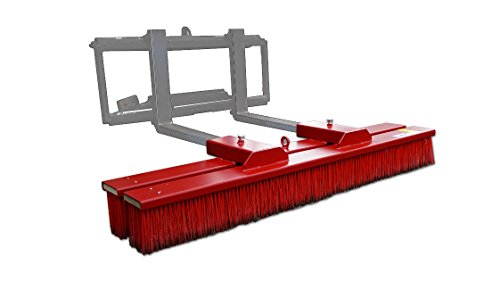Blockbesen ecoLine 1500mm Arbeitsbreite von Joma-Tech, Anbaubesen, Kehrmaschine Staplerbesen Stapler Radlader Maschinenbesen