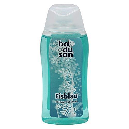 11er Pack badusan Duschbad Eisblau 11 x 200 ml, Duschgel, ph-hautneutral Pflegedusche Körperpflege Showergel